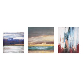 Miniature Abstract Gallery Art - Set of 3