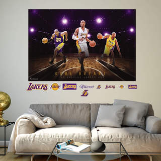 Fathead Kobe Bryant Montage Wall Decal
