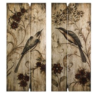Norida Bird Décor - Set of 2
