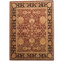 Handmade Herat Oriental Indo Khorasan Wool Rug  - 9'2 x 12'2 (India)