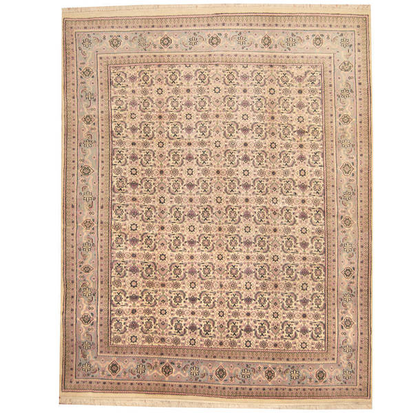 Handmade Herat Oriental Indo Bidjar Wool Rug - 8' x 10' (India)