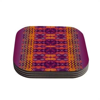 Kess InHouse Nina May 'Medeasetta' Coasters (Set of 4)