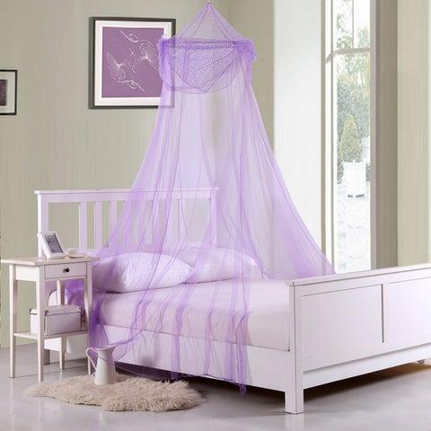 Raisinette Kids Collapsible Hoop Sheer Bed Canopy