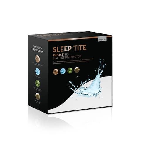 Sleep Title Encase, Lab Certified, Bedbug Proof, Hypoallergenic, Waterproof Mattress Encasement Protector