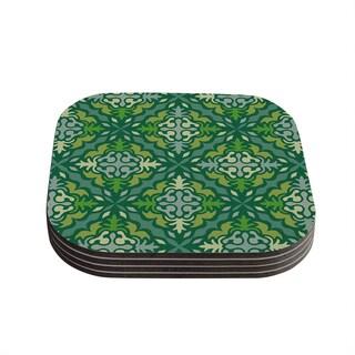 Kess InHouse Miranda Mol 'Yulenique' Coasters (Set of 4)