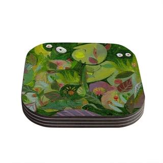 Kess InHouse Marianna Tankelevich 'Jungle' Coasters (Set of 4)
