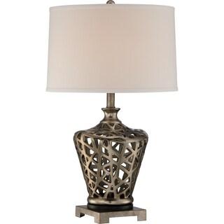 Quoizel Weaving Table Lamp
