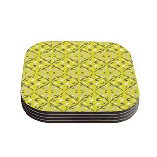 Kess InHouse Miranda Mol 'Seedtime' Coasters (Set of 4)