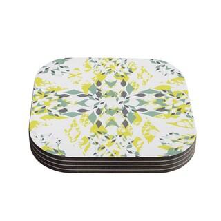 Kess InHouse Miranda Mol 'Springtide' Coasters (Set of 4)