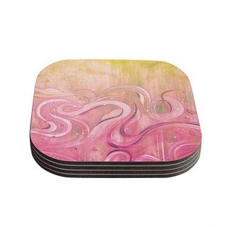 Kess InHouse Mat Miller 'Cascade' Coasters (Set of 4)