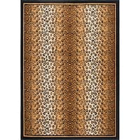 Home Dynamix Zone Collection Transitional Multicolor Area Rug - 7'8 x 10'7