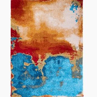 Home Dynamix Four Season Collection Contemporary Multicolor Area Rug (7'8 x 10'2)