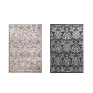 Home Dynamix Grey Killington Collection Modern Traditional Machine Made Polypropylene Area Rug (5'2 x 7'2) - 5'2 x 7'2