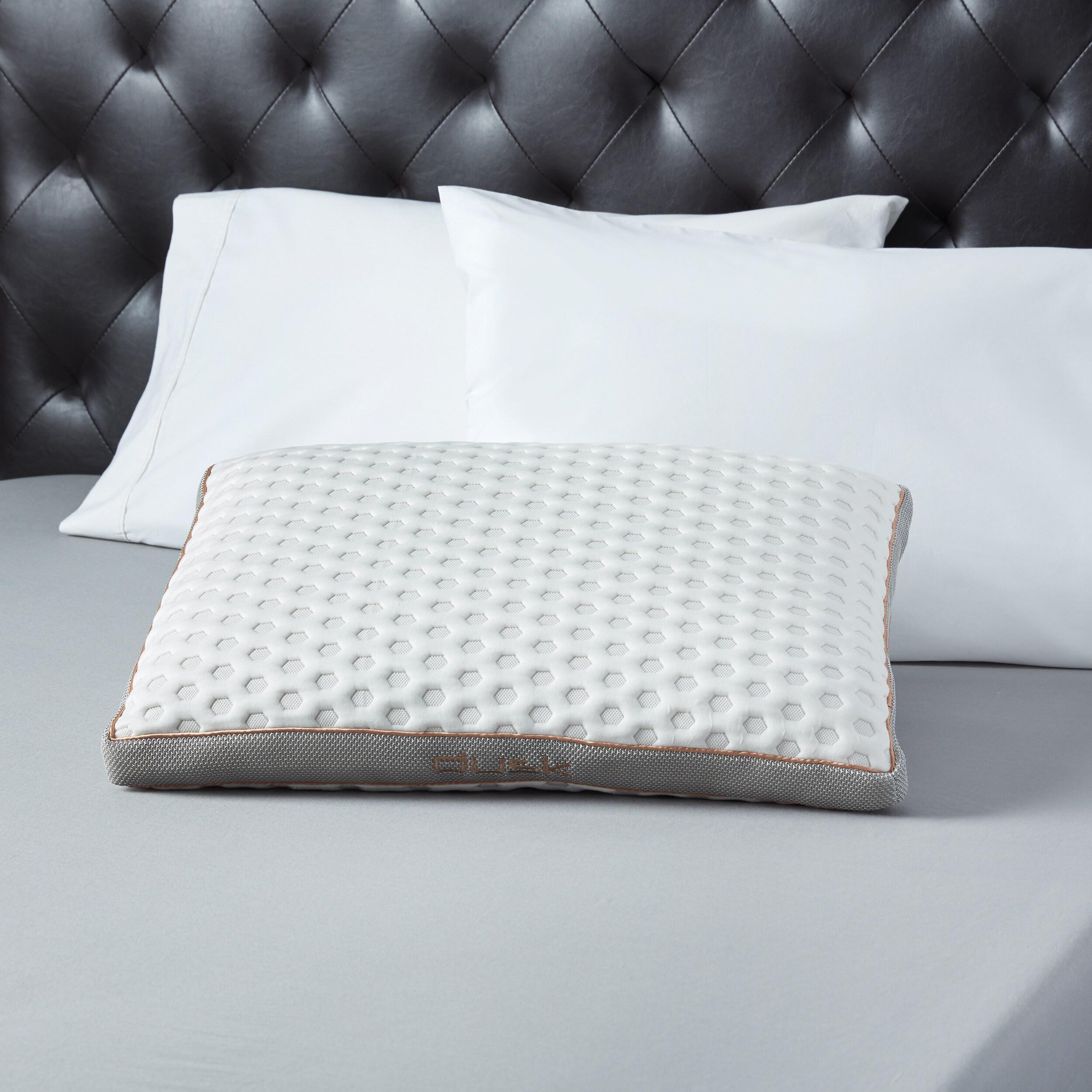 Bedgear Dusk Performance Hypoallergenic Latex Foam Pillow...