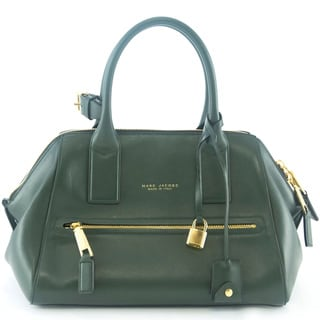 Marc Jacobs Foresta Green Smooth Small Incognito Tote