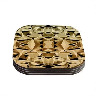 Kess InHouse Nika Martinez 'Abstraction' Coasters (Set of 4)
