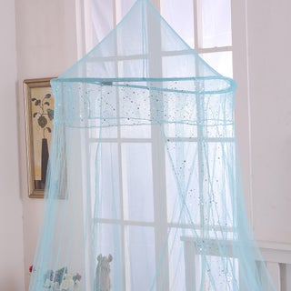 Sheer Galaxy Collapsible Hoop Kids Bed Canopy (4 options available)