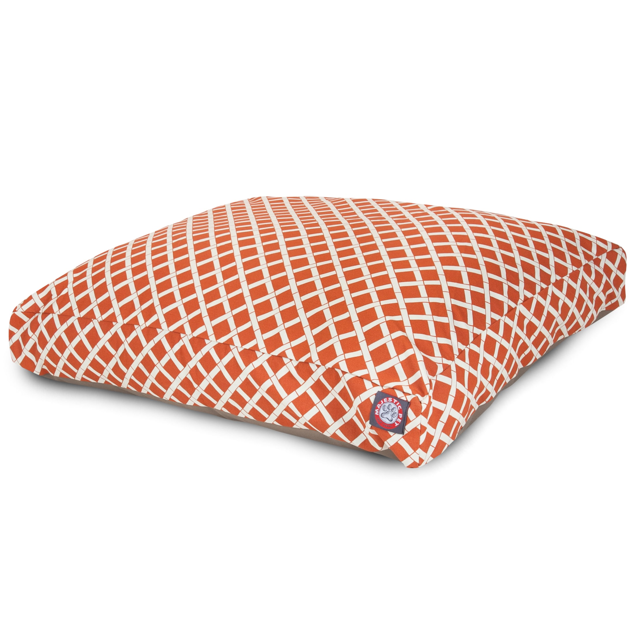 Bamboo Outdoor Indoor Rectangle Dog Bed by Majestic Pet (...