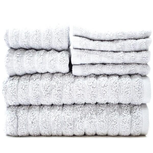 Adriatic Combed Cotton 8-Piece Towel Set