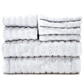 Adriatic Combed Cotton 8-Piece Towel Set