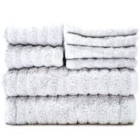 Adriatic 100% Combed Cotton 8 Piece Towel Set