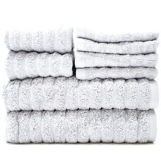 Adriatic 100% Combed Cotton 8 Piece Towel Set