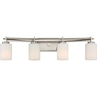 Quoizel Taylor Steel Bath Fixture With 4 Lights
