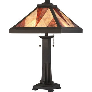 Quoizel Prism With Mica Shade Table Lamp