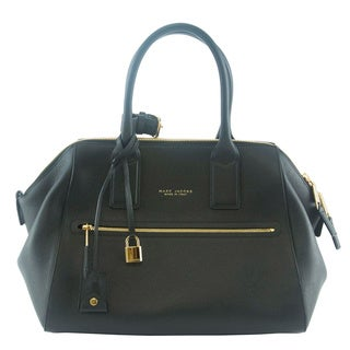 Marc Jacobs Black Textured Medium Incognito Tote