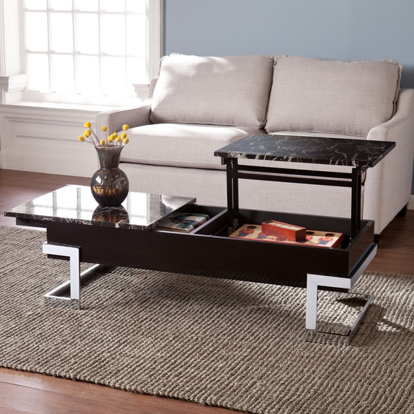 Best Faux Marble Coffee Table: Shop Harper Blvd Talia Faux Marble Lift Top Coffee