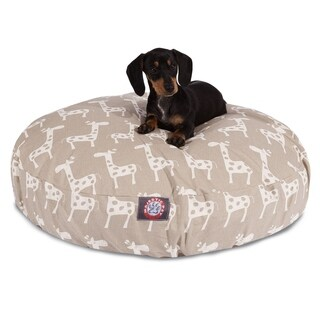 Majestic Pet Stretch Round Dog Bed