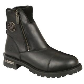Shaf International Men's Double-sided Zipper Boot