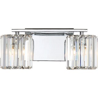 Quoizel Platinum Collection Divine 2-Light Bath Fixture