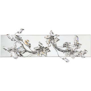 Quoizel Platinum Collection Mirabella Silvertone Steel Bath Fixture With 5 Lights