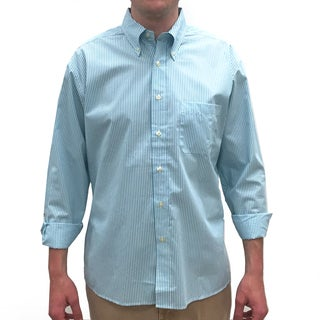 Bills Khakis Turquoise Cotton/Polyester Standard Issue Stripe Button-down Shirt