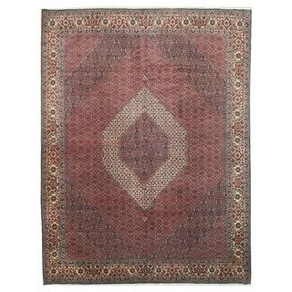 EORC Hand-knotted Wool Rust Bidjar Rug (10' x 13')