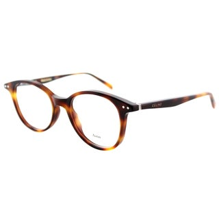 Celine CL 41407 05L Black Plastic 47mm Square Eyeglasses