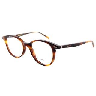 Celine CL 41407 05L Black Plastic 47mm Square Eyeglasses