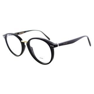 Celine CL 41406 807 Black Plastic Round 50mm Eyeglasses|https://ak1.ostkcdn.com/images/products/11804553/P18713155.jpg?_ostk_perf_=percv&impolicy=medium