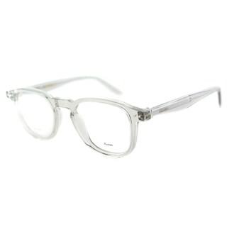 Celine CL 41404 RDN Grey Transparent Plastic 47mm Square Eyeglasses