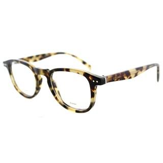 Celine CL 41404 3Y7 Honey Havana Plastic 47mm Square Eyeglasses