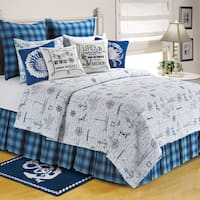 Fair Winds Quilt Collection Bedspread (Shams Not Included)