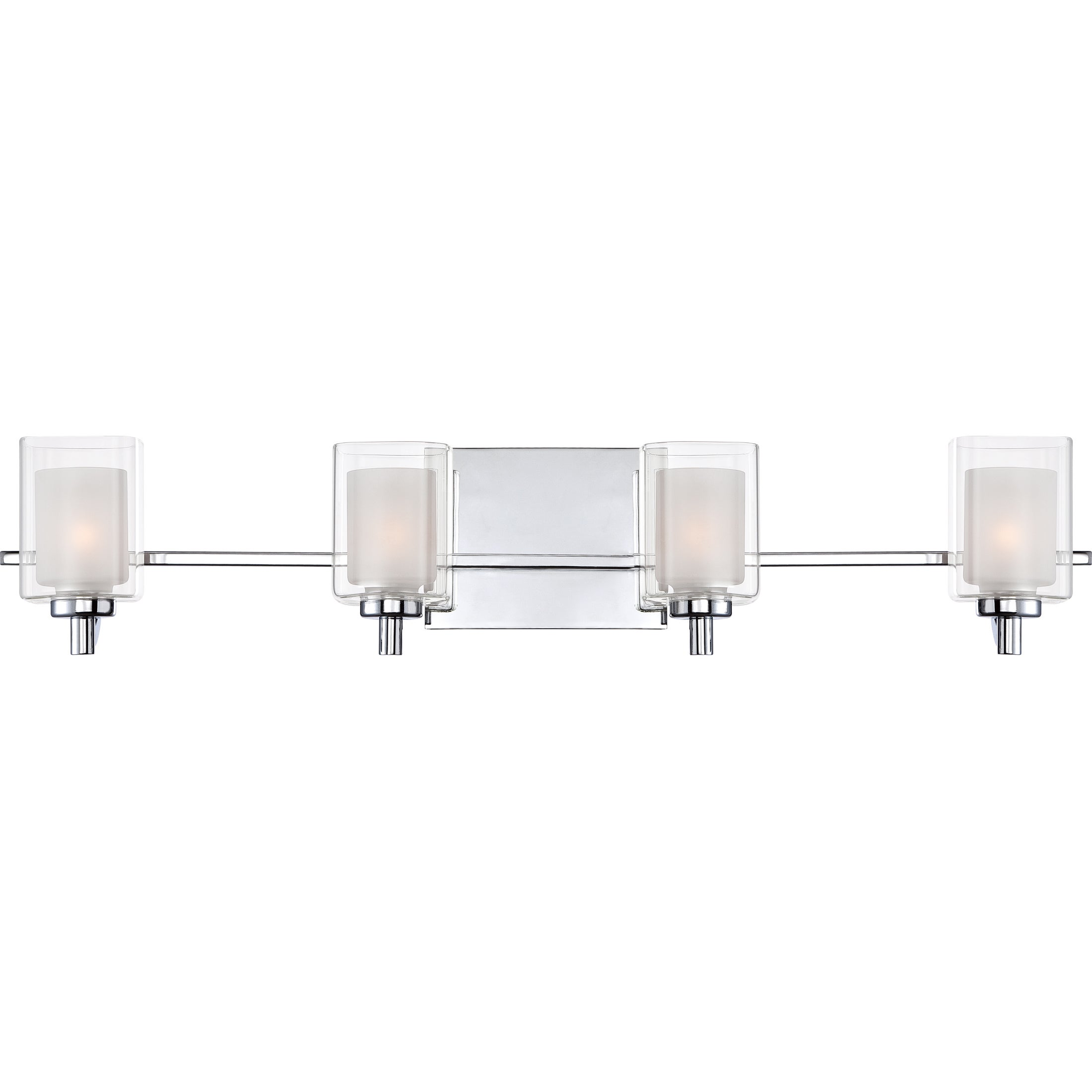 Shop Quoize Kolt 4-light Bath Fixture - Free Shipping On Orders Over ...