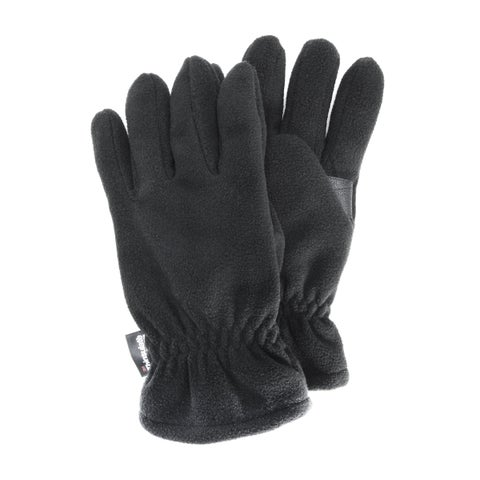 Men's Black Fleece Waterproof Gloves