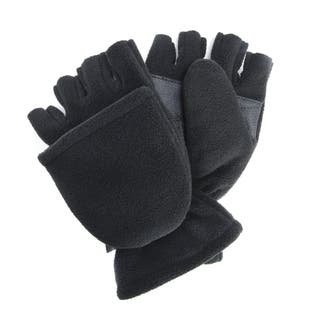 Men's Waterproof Fleece Flip Mittens|https://ak1.ostkcdn.com/images/products/11804879/P18713292.jpg?impolicy=medium