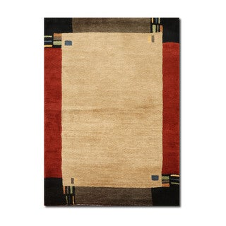 Authentic Tufenkian Tibetan Core Kensington Design Multicolor Wool Hand-knotted Rug (3' x 5')