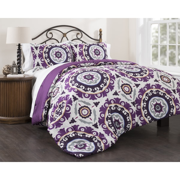 Suzani Royal 3-piece Comforter Set