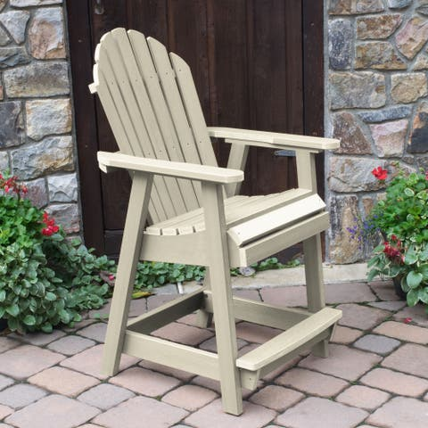 Highwood Eco-friendly Hamilton Counter-Height Deck Chair