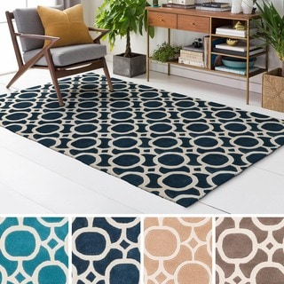 Hand Tufted Great Wool Rug (9' x 13')