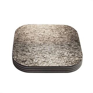 Kess InHouse Catherine McDonald 'Golden Hour' Water Reflection Coasters (Set of 4)